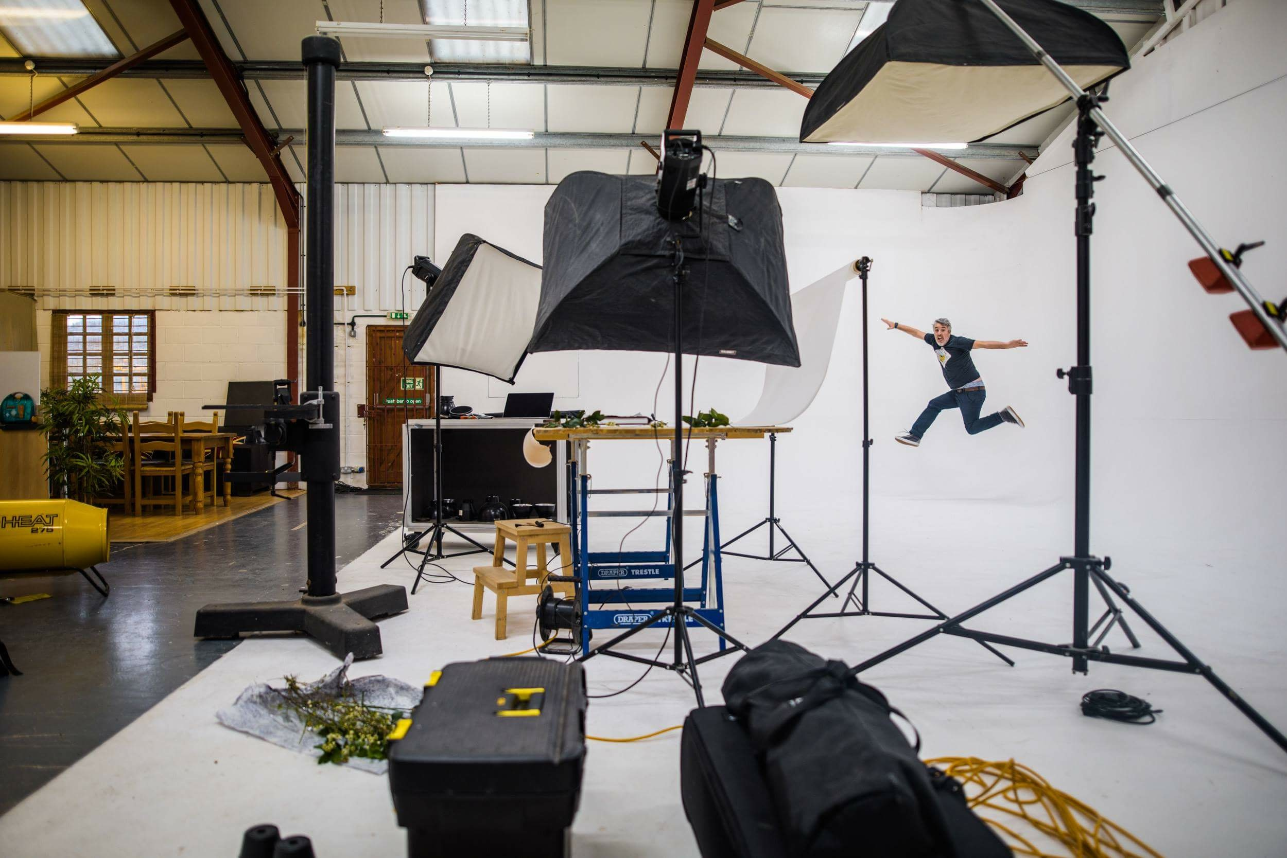 Our photography studio hire blog by Kinetic Studios